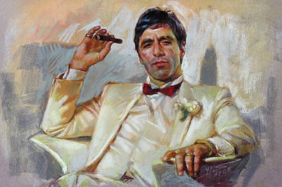 Gangster Pastel - Scarface by Ylli Haruni