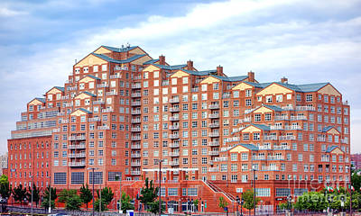Maryland Photograph - Scarlett Place Baltimore by Olivier Le Queinec
