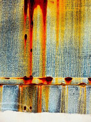 Scarred Print by Skip Hunt