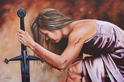 Painting - Scars Of Honor by Ilse Kleyn