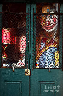 Scary Orleans Print by John Rizzuto
