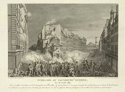 Scene From The French Revolution Print by British Library