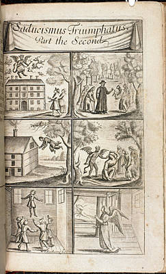 Scenes Of Levitation Print by British Library