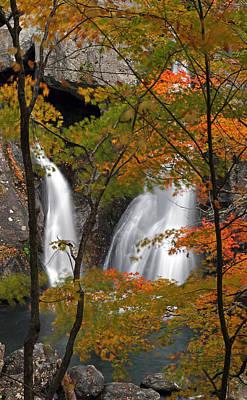 Bash Bish Falls Photograph - Scenic Bash Bish Waterfall by Juergen Roth