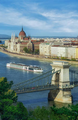 Budapest Hungary Photograph - Scenic Budapest by Mountain Dreams