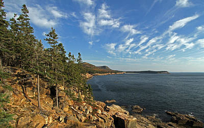 Scenic Maine Acadia Coast Photography Print by Juergen Roth