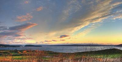 Golf Photograph - Scenic Splendor - Chambers Bay Golf Course by Chris Anderson