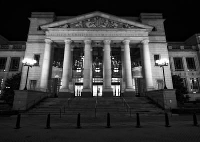 Schermerhorn Symphony Center In Nashville Print by Dan Sproul