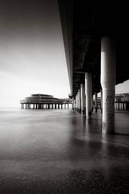 Underneath Photograph - Scheveningen Pier 2 by Dave Bowman