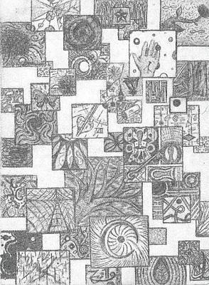 Schizo Print by Ty DAvila