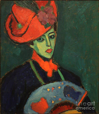 Orthodox Painting - Schokko With Red Hat by Celestial Images