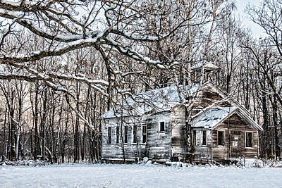 Old School Houses Photograph - School Out Forever by Paul Freidlund