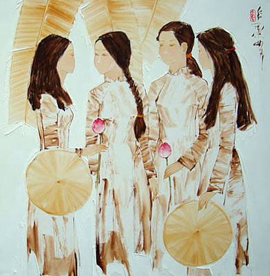Schoolgirls Original by Luong Dung