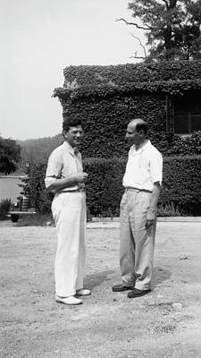 Eugenics Photograph - Schultz And Stern by American Philosophical Society