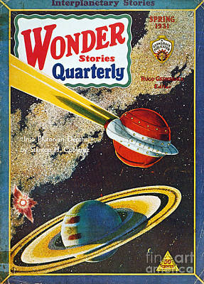 Science Fiction Cover, 1931 Print by Granger