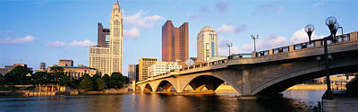 Ohio Photograph - Scioto River, Columbus, Ohio, Usa by Panoramic Images