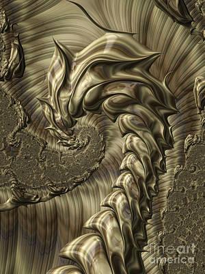 Artistic Digital Art - Scorpion by John Edwards