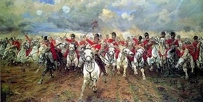 Freedom Painting - Scotland Forever  by Elizabeth Thompson