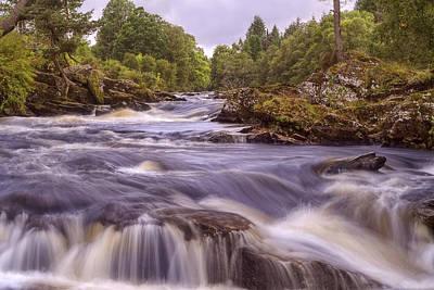 Waterfalls Photograph - Scotland's Falls Of Dochart - Killin Scotland by Jason Politte
