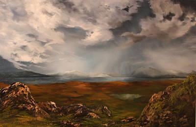 Scottish Loch Original by Jean Walker