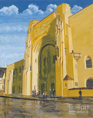 Raymond Painting - Scranton Cultural Center At Masonic Temple by Austin Burke