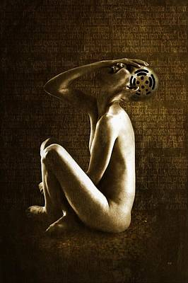 Despair Digital Art - Scream by Johan Lilja