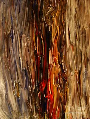 Shouting Painting - Screaming Wall by Chris Brightwell