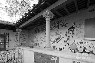 Claremont Photograph - Scripps College Graffiti Wall by University Icons