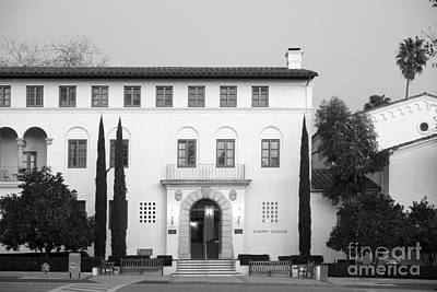Scripps College Print by University Icons