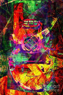 Diving Helmet Digital Art - Scuba 5d27810 by Wingsdomain Art and Photography