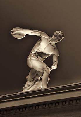 Sculpture Olympic Athlete Original by Linda Phelps