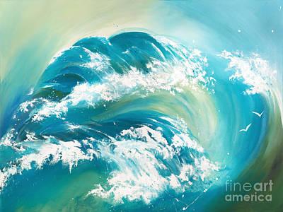 Acrylic Painting - Sea Dreams by Michelle Wiarda