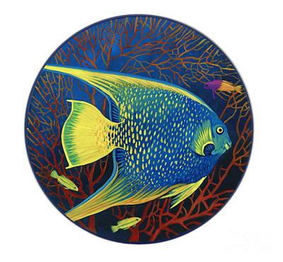 Sea Fan Original by Danielle  Perry