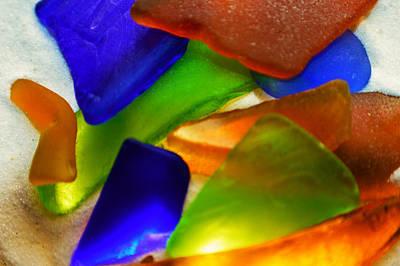 Sea Glass II Print by Sherry Allen