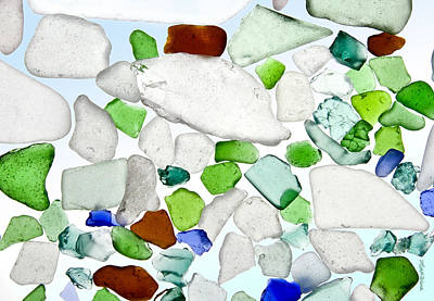 Sea Glass Print by Michelle Wiarda