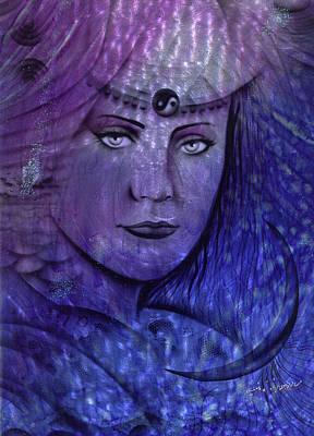 Oracle Painting - Sea Gypsy by Luis  Navarro