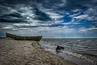 Outlook Photograph - Sea Lines - A Day Of Memories by Mihai Ilie