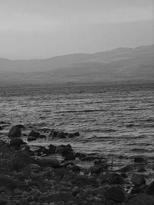 Sea Of Galilee Print by Sandra Pena de Ortiz