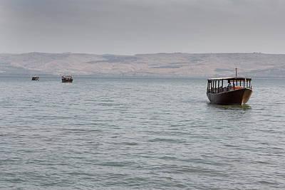 Sea Of Galilee Tiberias Israel Print by Ronald Jansen