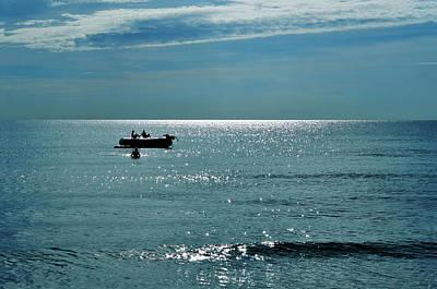 Raft Photograph - Sea Of Love by Laura Fasulo