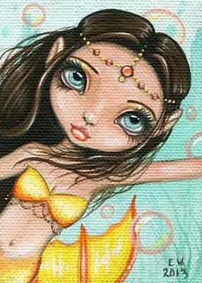 Sea Princess Marisol Print by Elaina  Wagner