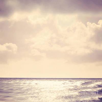 Sea Sparkle Print by Lyn Randle
