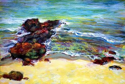 Pacific Painting - Sea Sparkle by Richard Rochkovsky