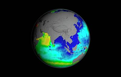 Sea Surface Salinity Print by Nasa/goddard Space Flight Center Scientific Visualization Studio