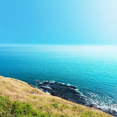 Sea Views From Cliffs Original by Atiketta Sangasaeng