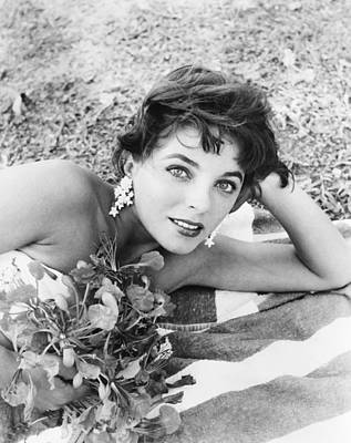 1950s Portraits Photograph - Sea Wife, Joan Collins, On-set by Everett