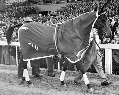 Seabiscuit Photograph - Seabiscuit Horse Racing #4 by Retro Images Archive