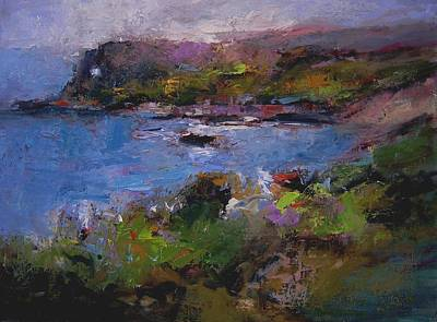 Seacave Point Print by R W Goetting