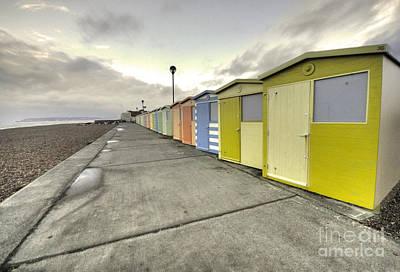Seaford Beach  Print by Rob Hawkins