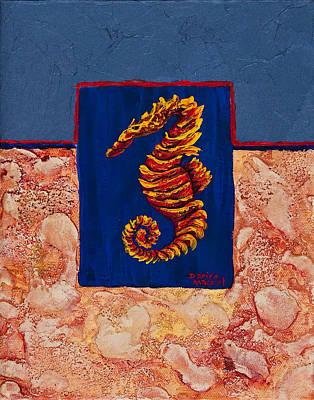 Seahorse  Print by Darice Machel McGuire